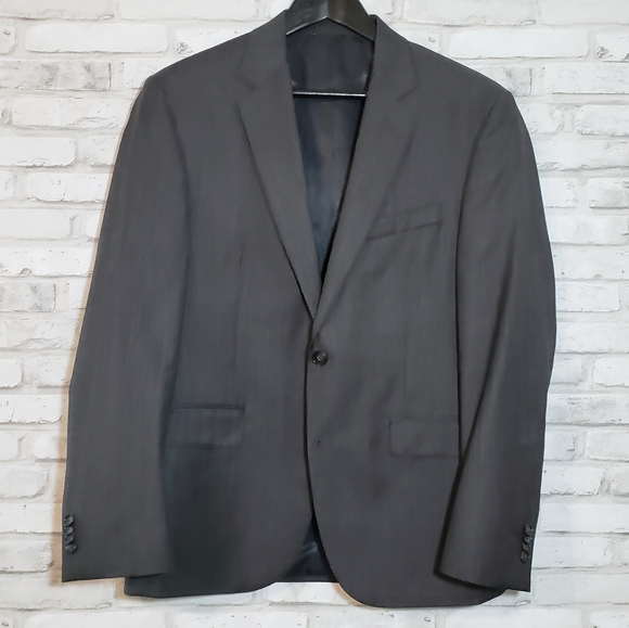 Kenneth Cole Other - Kenneth Cole Charcoal Wool Sport Coat